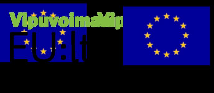 EU sekä Vipuvoimaa EU:lta logot